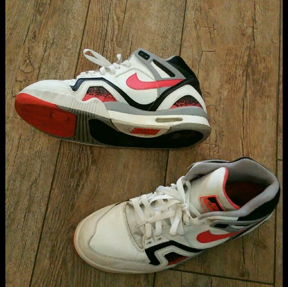 oscuridad Derrotado Cabina  Nike Shoes | Nike Air Tech Challenge Ii Hot Lava 5 Sneakers | Poshmark